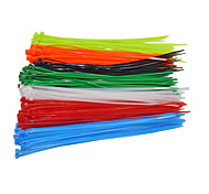 cheap -100PCS/ Bag Fasten Wire Self-Locking Cable 4x200mm Nylon Cable Zip Ties Wrap