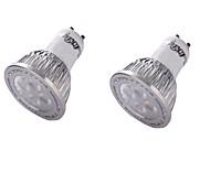 Недорогие -YouOKLight 350 lm GU10 Точечное LED освещение MR16 4 светодиоды SMD 3030 Декоративная Тёплый белый AC 110-130 В AC 100-240 В AC 220-240V