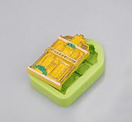 специальные формы для силиконовых форм для пищевых продуктов для шоколадных чипсов и форм-фактора ramdon для печенья