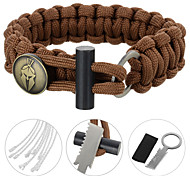 cheap -FURA Multitools / Survival Bracelet Hiking / Camping / Travel Durable / First Aid / Survival Stainless Steel / Nylon / Alloy 1pcs