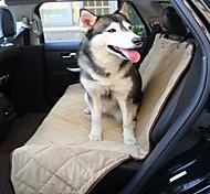 Собака Чехол для сидения автомобиля Животные Коврики и подушки Водонепроницаемость Складной Черный Бежевый Коричневый Для домашних