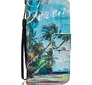 Tree PU Leather Wallet Case for Iphone 5 5s 5se 6 6s 6Plus 6sPlus