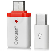 желтый knife® USB 3.1 Type C-Micro USB Type B / USB 3.0 0.05m (0.15Ft)