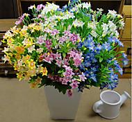 Недорогие -Искусственные Цветы 1 Филиал Пастораль Стиль Вечные цветы Букеты на стол