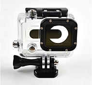 Smooth Frame Protective Case Waterproof Housing Case Anti-Shock Waterproof Convenient Dust Proof For Action Camera Gopro 3 Universal
