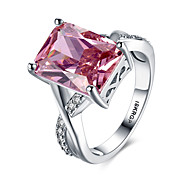 cheap -Women's Band Rings Personalized Vintage Hypoallergenic Fashion Sterling Silver Zircon Cubic Zirconia 18K gold Platinum Jewelry Wedding