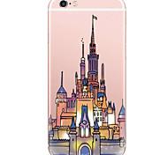 cheap -Pattern Fashion Cartoon Castle PC Hard Case Back Cover For Apple iPhone 6s 6 Plus SE/5s/5