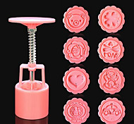 cheap -Cake Molds For Chocolate For Cookie For Cake Plastic DIY 3D Handles