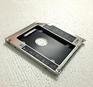 разностилевого полностью алюминиевый ноутбук оптический привод залив ССД твердое
