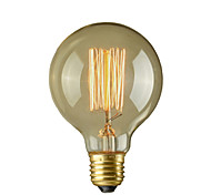 cheap -40W E26/E27 Retro Industry Style Globe Transparent Incandescent Bulb