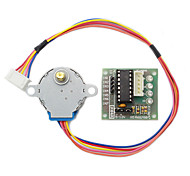cheap -5V Stepper Motor 28Byj-48 With Drive Test Module Board Uln2003 5 Line 4 Phase