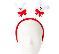 1 Pc Sponge Elk Design Hair Hoop Christmas Ornament Party Supply