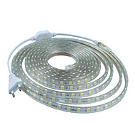 cheap -12M  220V Higt Bright LED Light Strip Flexible 5050 720smd Three Crystal Waterproof Light Bar Garden Lights with EU Power Plug
