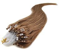 """1 шт / много 22"""" пепельный блондин (# 24) 100s микро петли человеческих волос много цветов на складе"""