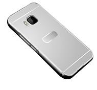 Недорогие -Для Кейс для HTC Покрытие Кейс для Задняя крышка Кейс для Один цвет Твердый Акрил HTC