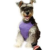 Недорогие -Собака Ошейники Собачья упряжка для использования в авто/Собачья упряжка для безопасности Регулируется / Выдвижной Дышащий Мягкий