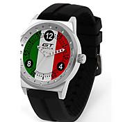cheap -GT World Racing Sports Men's Wristwatch Women's Fashion British Campus Silicone Strap Quartz Watch
