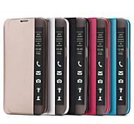 Недорогие -для Samsung Galaxy s7 вид края s7 кейс Smart Touch окно искусственная кожа флип крышка s6 края плюс s6 s5