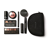 cheap -7 Blush+Shadow+Lipstick+Others Dry Wet Matte Shimmer Mineral Eye Face Lip Fast Dry Coloured gloss Moisture Long Lasting Concealer Natural