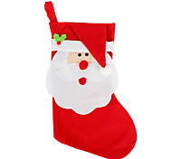 большие рождественские украшения чулок Рождество Рождество ребенок подарок мешок конфеты мешки носки елочные украшения