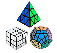 cheap -Rubik's Cube 3 PCS Shengshou Pyramid Alien Megaminx Mirror Cube 3*3*3 Smooth Speed Cube Magic Cube Puzzle Cube Speed Professional Gift