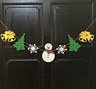 Недорогие -2 м рождественские украшения подарки кольцо тростника колокола висят играть роль ofing елочные украшения Рождественский подарок