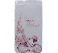 For Wiko Lenny 2 Lenny 3 Tower Pattern High Permeability TPU Material Phone Shell for Pulp Fab 4G