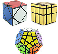 Rubik's Cube Shengshou Smooth Speed Cube Alien Megaminx Skewb Mirror Cube Skewb Cube Speed Professional Level Magic Cube ABS Square