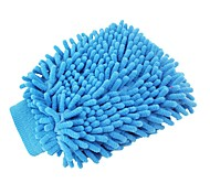 ZIQIAO Washable Car Washing Cleaning Gloves Tool Car Washer Super Mitt Microfiber Cleaning Cloth (Random Color)