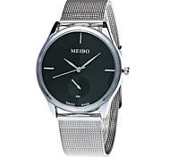 Недорогие -Xu™ Женские Модные часы Наручные часы Кварцевый Нержавеющая сталь Группа Винтаж Повседневная Серебристый металл Белый Черный