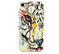 For iPhone 7 7 Plus Smooth Feel Glow in the Dark Tiger Pattern Case Back Cover Case Animal Hard PC for iPhone 6s 6 Plus SE 5S 5