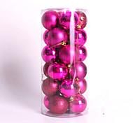 Недорогие -1pcs цвет случайный рождественские украшения подарки роль ofing елочные украшения Рождественский подарок повесить actthe роль колокол