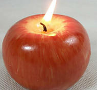 baratos -natal processo de moldagem velas simulação maçã fruta