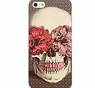 For Pattern Case Back Cover Case Skull Soft TPU for iPhone 7 7 Plus 6s 6 Plus SE 5s 5 4s 4 5C