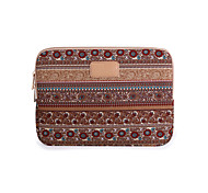 cheap -11.6,12,13.3 Inch Apricot Color Bohemian Computer Bag Notebook Sleeve Case For iPad/MacBook/Dell/HP/Surface,Etc
