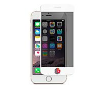 zxd 2.5d 9h полный экран конфиденциальности анти-шпиона закаленное стекло для яблока iphone6s / протектор 6 экран защитную пленку