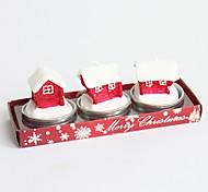 2016 мода новый съемный марочные новизны рождественской елки Санта-Клауса стиль обувь свечи коробки