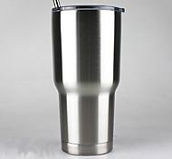 Недорогие -горячая двухслойная изоляция из нержавеющей стали чашки 30 унций йети чашки автомобили кружка пива большой емкости кружка полный стакан