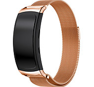 abordables -Bracelet de Montre  pour Gear Fit 2 Samsung Galaxy Bracelet Milanais Acier Inoxydable Sangle de Poignet