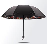 Lady Love Princess  The Umbrella Solid Bottom  Lnner Black Rubber Sun Protection Umbrella  Seventy Percent Off Umbrella Sun Umbrella