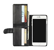 Luxury Multi-function Wallet Style PU Leather Flip Case with Magnetic Snap and Card Slot for iPhone 7/7 Plus/6S/6Plus/SE/5s/5