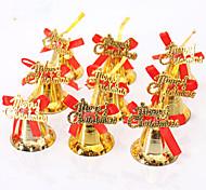 1pcs (9pcs natal decoração presentes papel ofing enfeites de árvore de Natal Presente de Natal pendurar actthe papel do sino