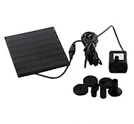 Aquarium Water Pumps Solar Black Plastic 1.2W 7V 160 L/H for Pond Fountain