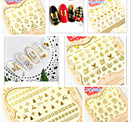 Five For A Set Of Snow Christmas 3 D Nail Decals Nail Decals Stickers