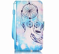 Custodia per cellulare blu campanula painting per apple itouch 5 6 custodie / cover per iPod