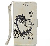 cheap -for Wiko Lenny 3 Lenny 2 Full Body Heart Embossed Leather Wallet