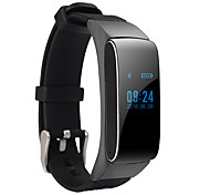 cheap -Smart Bracelet Calories Burned Pedometers Audio Hands-Free Calls Message Control Camera Control Sports Sleep Tracker Bluetooth3.0 Android