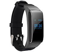 abordables -Bracelet à puce Android Calories brulées / Pédomètres / Audio Moniteur de Sommeil / Mode Mains-Libres / Contrôle des Messages / 100-120