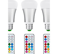 cheap -8.5W 880 lm E26/E27 LED Globe Bulbs A80 1 leds COB Sensor Infrared Sensor Dimmable Waterproof Decorative Remote-Controlled Natural White