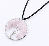 cheap -Men's Women's Jewelry Tree of Life Shape Fashion Pendant Necklace Silver Pendant Necklace Birthday Gift Daily